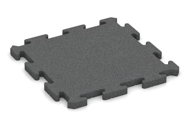 Poolunterlage von WARCO im Farbdesign schiefergrau mit den Abmessungen 500 x 500 x 30 mm. Produktfoto von Artikel 2818 in der Aufsicht von schräg vorne.