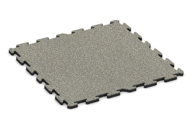 Schwimmbadfliese von WARCO im Farbdesign Heller Granit mit den Abmessungen 1000 x 1000 x 30 mm. Produktfoto von Artikel 3298 in der Aufsicht von schräg vorne.