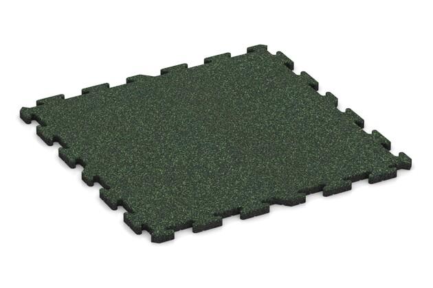 Schwimmbadfliese von WARCO im Farbdesign Englischer Rasen mit den Abmessungen 1000 x 1000 x 30 mm. Produktfoto von Artikel 3299 in der Aufsicht von schräg vorne.
