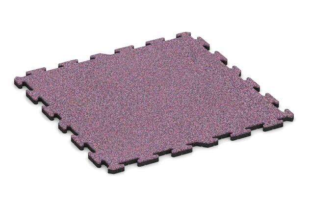 Schwimmbadfliese von WARCO im Farbdesign Lavendel mit den Abmessungen 1000 x 1000 x 30 mm. Produktfoto von Artikel 3303 in der Aufsicht von schräg vorne.