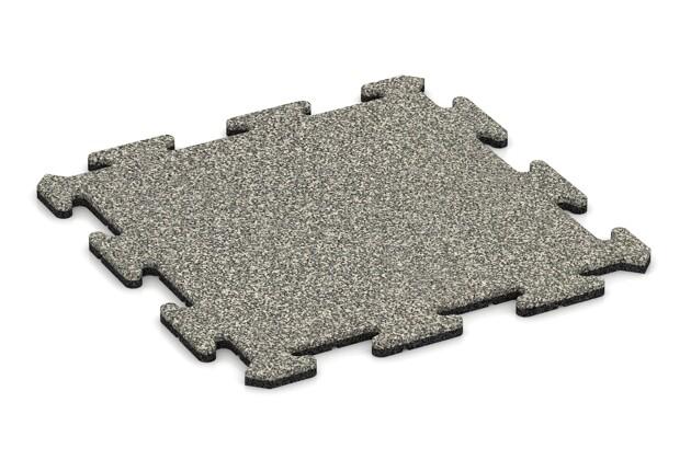 Poolumrandung von WARCO im Farbdesign Heller Granit mit den Abmessungen 500 x 500 x 18 mm. Produktfoto von Artikel 0126 in der Aufsicht von schräg vorne.