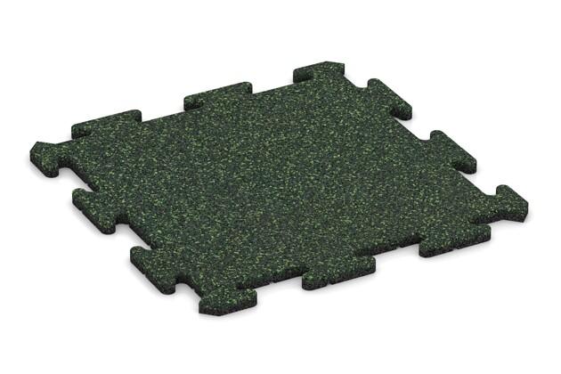 Poolumrandung von WARCO im Farbdesign Englischer Rasen mit den Abmessungen 500 x 500 x 18 mm. Produktfoto von Artikel 0127 in der Aufsicht von schräg vorne.