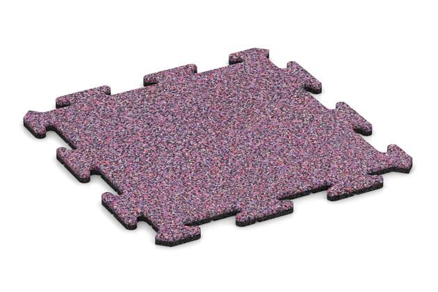 Poolumrandung von WARCO im Farbdesign Lavendel mit den Abmessungen 500 x 500 x 18 mm. Produktfoto von Artikel 0131 in der Aufsicht von schräg vorne.