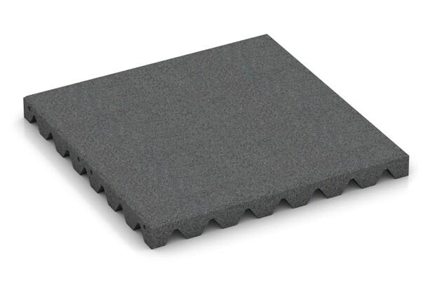 Schallschutzplatte von WARCO im Farbdesign schiefergrau mit den Abmessungen 500 x 500 x 45 mm. Produktfoto von Artikel 3865 in der Aufsicht von schräg vorne.