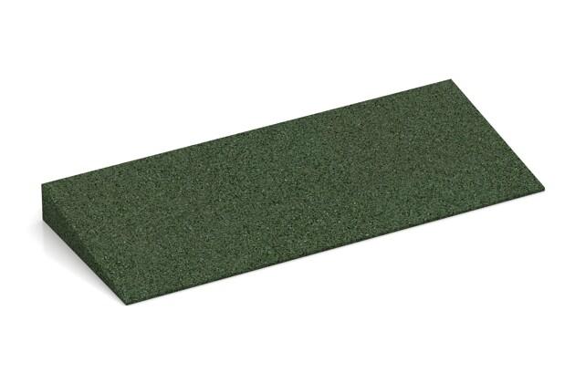 Anti-Stolper-Keil von WARCO im Farbdesign grasgrün mit den Abmessungen 500 x 200 x 43/8 mm. Produktfoto von Artikel 2240 in der Aufsicht von schräg vorne.