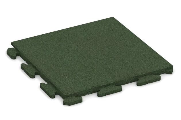 Poolunterlage von WARCO im Farbdesign grasgrün mit den Abmessungen 500 x 500 x 30 mm. Produktfoto von Artikel 1273 in der Aufsicht von schräg vorne.
