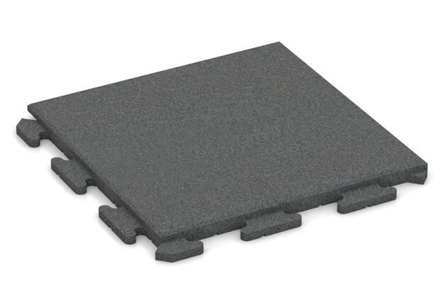 Poolunterlage von WARCO im Farbdesign schiefergrau mit den Abmessungen 500 x 500 x 30 mm. Produktfoto von Artikel 1274 in der Aufsicht von schräg vorne.