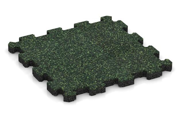 Poolfliese von WARCO im Farbdesign Englischer Rasen mit den Abmessungen 306 x 306 x 20 mm. Produktfoto von Artikel 3851 in der Aufsicht von schräg vorne.